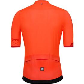 Santini Redux Jersey SS Herre arancio fluo